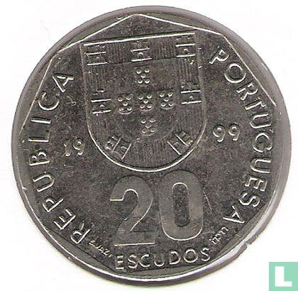Portugal - Portugal 20 escudos 1999