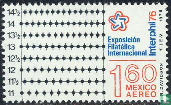"Mexico - Stamp exhibition ""Interphil 76"""