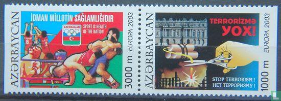 Azerbaijan - Europa – Poster art