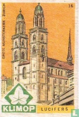 Grote Munsterkerk  Zurich