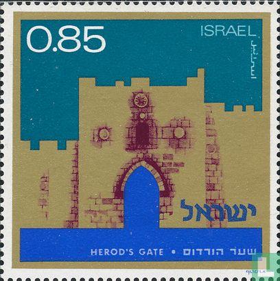 Israël - Stadspoorten van Jeruzalem