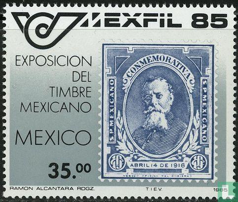 Mexiko - Briefmarkenausstellung MEXFIL '85