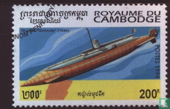 Cambodja - Duikboten