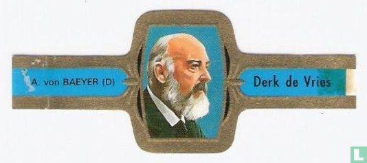 Derk de Vries - A. von Baeyer (D)