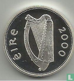 Ireland 1 pound 2000 (millennium - PIEDFORT) - Image 1