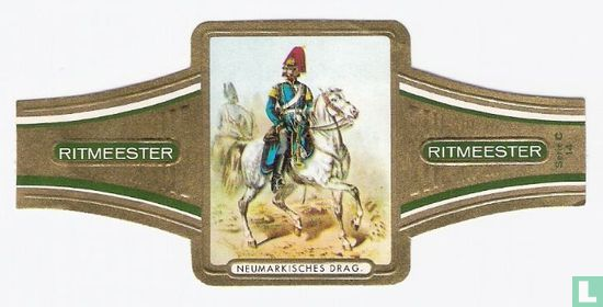 Ritmeester - Neumarkisches Drag. Regt Nr.3