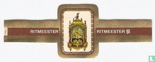 Ritmeester - Franse religieuse pendule  ± 1700