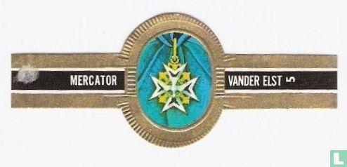Mercator - Frankrijk - Orde van de H.Geest 1832