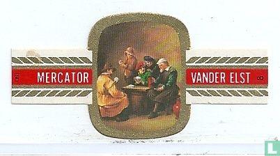 Mercator - Bier bij kaartspel