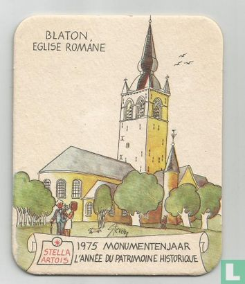 Belgique - Blaton, Eglise Romane