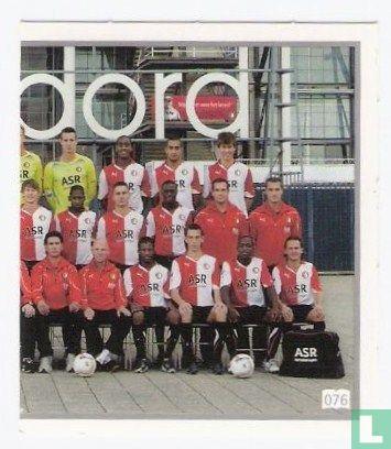 Albert Heijn - Feyenoord groepsfoto rechts