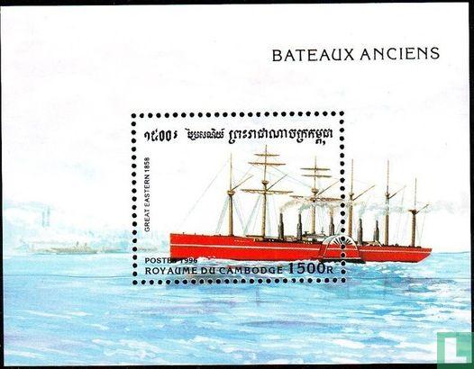 Cambodja - Historische schepen