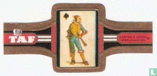 Taf - Speelkaart van Alfred Rethel  1852