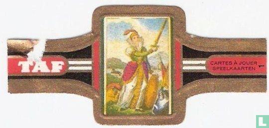 Taf - Spaans kopergravure spel  1811