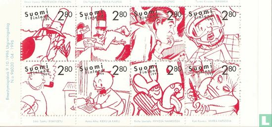 Finlande - 100 ans les caricatures BD