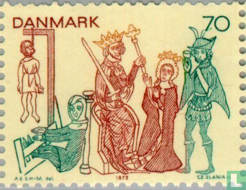 Denmark - Frescoes
