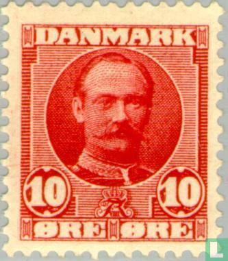 Danemark - Le roi Frederick VIII