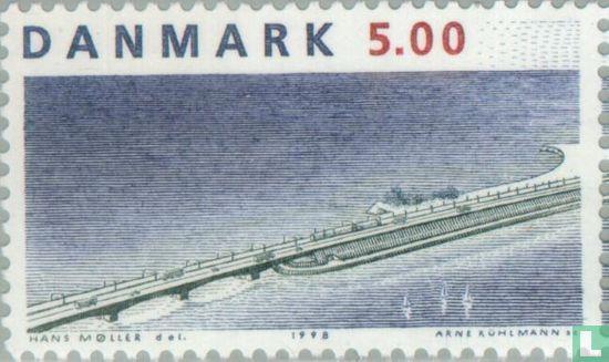 Denemarken - Brug over de Grote Belt