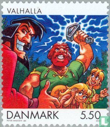 Denmark - Cartoon