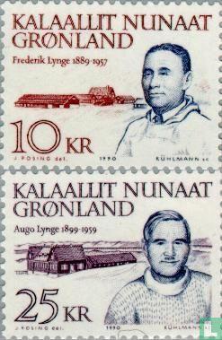 Grönland - 1990 bekannten Personen (120 GR)