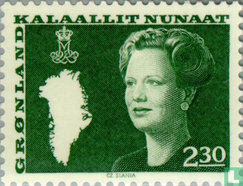 Grönland - Königin Margrethe II.