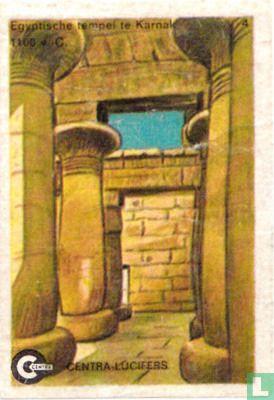 Egyptische tempel te Karnak 1300 v.C.