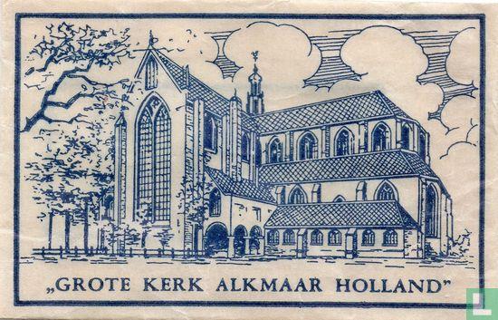 """Zakje - """"Grote Kerk Alkmaar Holland"""""""