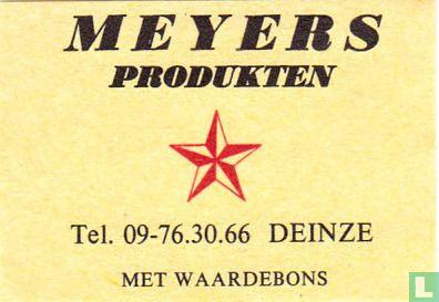 Meyers producten