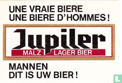 Une vraie biere Jupiler