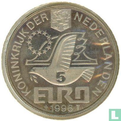 """Nederland 5 Euro 1996 """"Constantijn Huygens"""" - Afbeelding 1"""