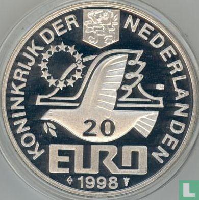 """Nederland 20 Euro 1998 """"Maarten Tromp"""" - Afbeelding 1"""