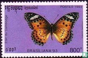 Cambodja - Brasiliana '91 - Vlinders