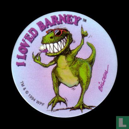 I loved Barney - Afbeelding 1