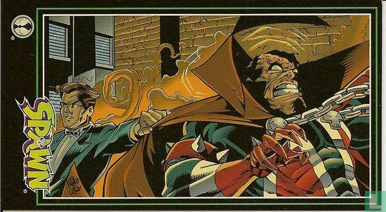 Spawn comics - Spawn meets Houdini