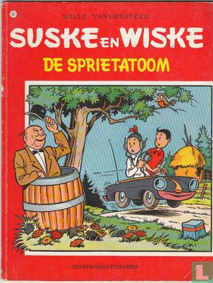 Suske en Wiske - De sprietatoom