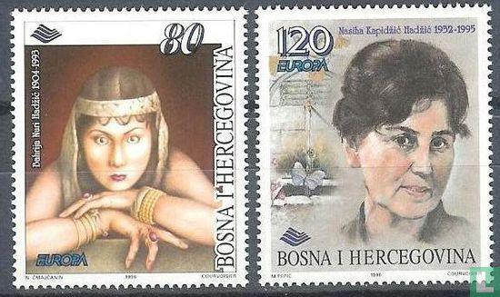 Bosnië en Herzegovina [BIH] - Europa – Beroemde vrouwen