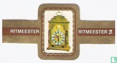 Ritmeester - Engelse tafelklok ± 1730