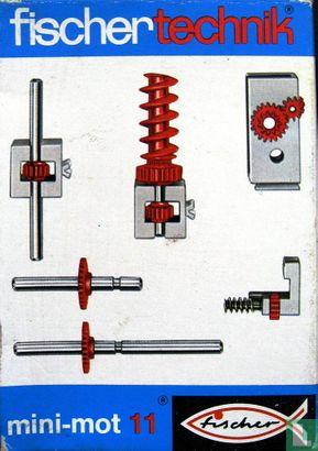 """Fischertechnik - 30202 Aanvulset mini-mot 11 """"Getriebeteile"""" (1975-1990)"""