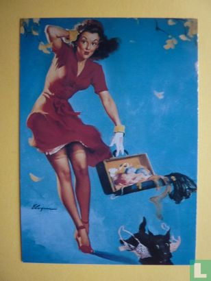 Gil Elvgren's Calender Pin-Ups 2 - Finders Keepers