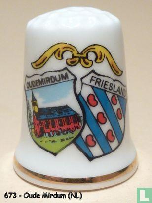 Wapen 2x - Oudemirdum - Friesland