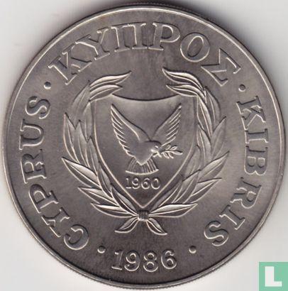 "Cyprus 1 pound 1986 ""World Wildlife Fund-Moufflon""  - Image 1"