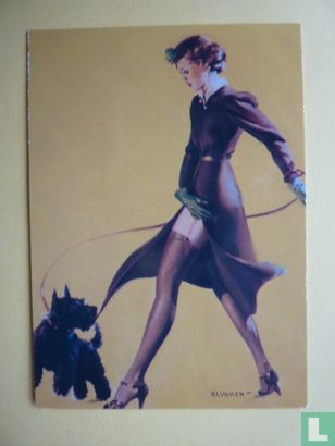 Gil Elvgren's Calender Pin-Ups 2 - Man's Best Friend