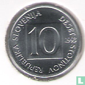 Slovenië (Slovenija) - Slovenië 10 stotinov 1993