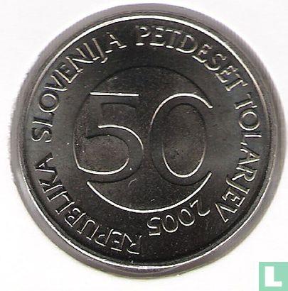 Slovenië (Slovenija) - Slovenië 50 tolarjev 2005