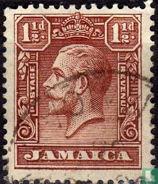 Jamaica - King George V