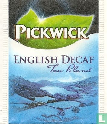 Pickwick 3 (feuille verte) - English Decaf