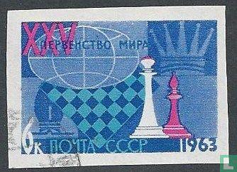 Sovjet-Unie - Wk Schaken Moskou