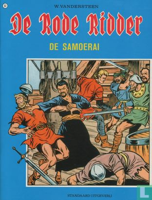 Chevalier Rouge, Le [Vandersteen] - De samoerai