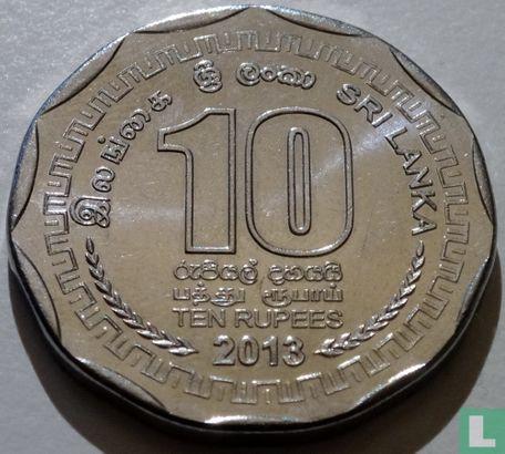 Sri Lanka - Sri Lanka 10 roupies 2013