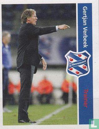 Eredivisie - sc Heerenveen: Gertjan Verbeek
